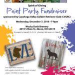 Spirit of Giving Fundraiser
